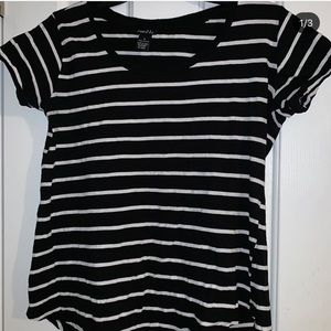 Striped short sleeve